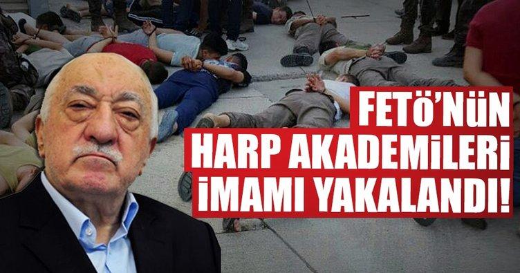 Son dakika: Harp Akademileri Komutanlığı imamı yakalandı!