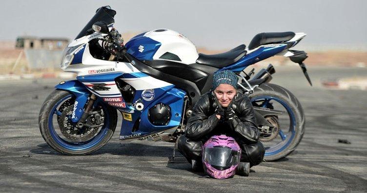 İranlı kadın motosikletçinin hayali engellerin kalkması
