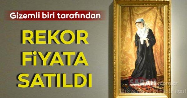 Osman Hamdi Bey'in 'İstanbul Hanımefendisi' adlı tablosu rekor fiyata satıldı