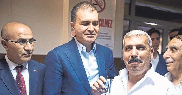 AB Bakanı Çelik Erdoğan'ın izinde