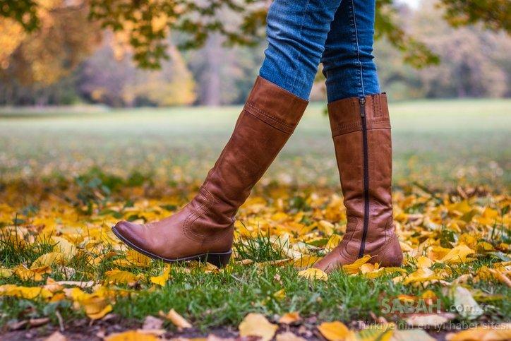Bir sonbahar klasiği: Elbise ve çizme
