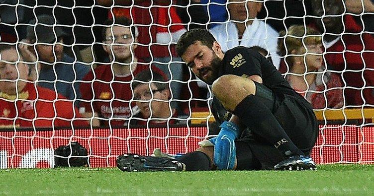Alisson Becker, Liverpool - Chelsea Süper Kupa maçında yok