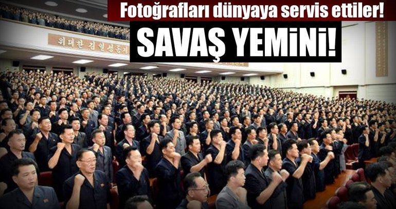 Kuzey Kore'den savaş ilanı!