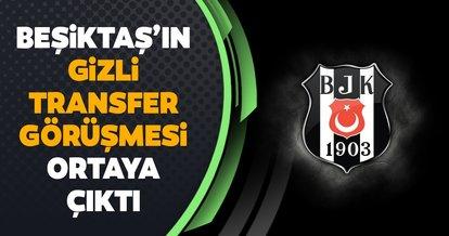 Beşiktaş'ın gizli transfer görüşmesi ortaya çıktı! Galatasaray derbisine geldi