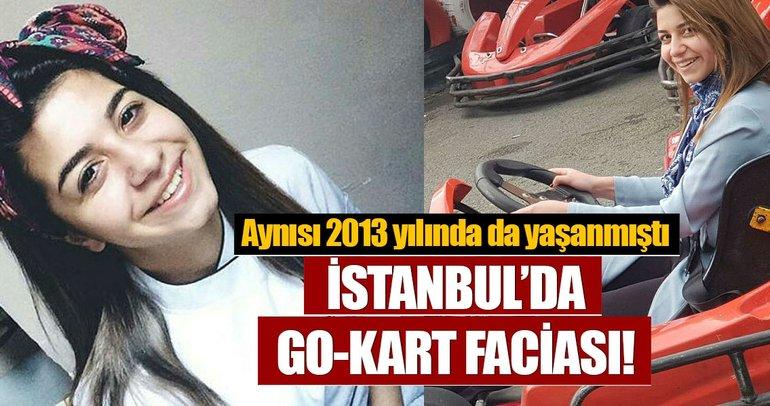 İstanbul Sarıyer'de go-kart faciası!