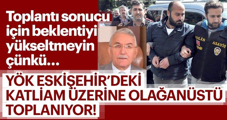 """""""Rektör Hasan Gönen katliamı gerçekleştiren Volkan Bayar'ı korumuş"""""""