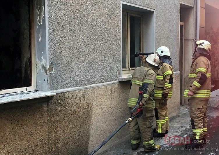 İzmir'de şarjda bırakılan taşınabilir batarya yangına neden oldu