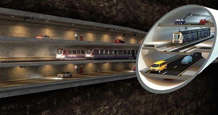 Dev projede büyük gün! 3 katlı tünel ihaleye...
