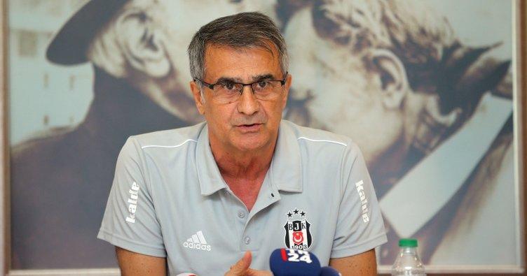 Şenol Güneş: Beşiktaş'tan ayrılmam için...