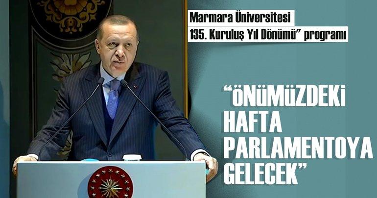 Cumhurbaşkanı Erdoğan: Doktorodan sonra yardımçı doçentlik olmayacak!