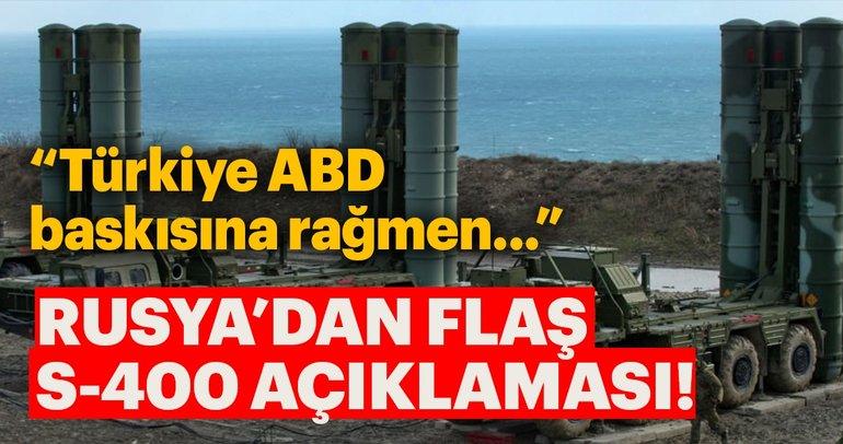 Rusya: Ankara ABD baskısına rağmen S-400'leri alacak