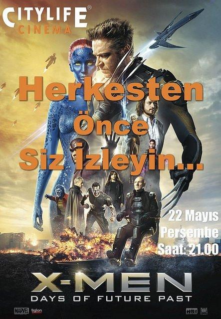 X-Men: Geçmiş Günler Gelecekü filminden kareler