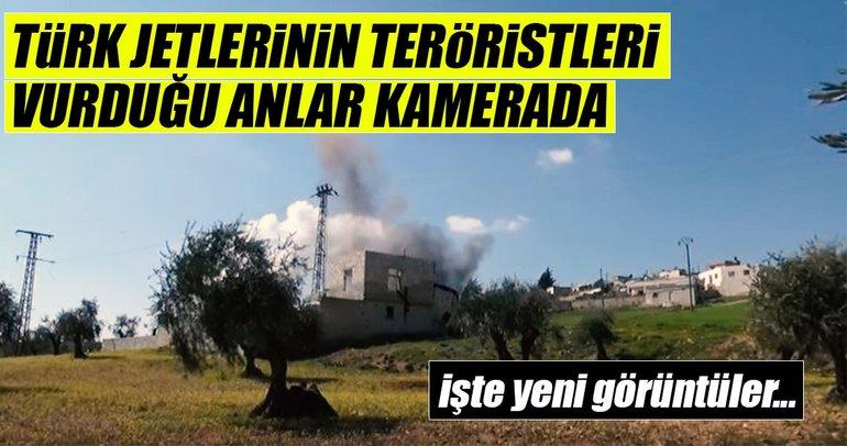 TSK, teröristlerin saklandığı evi işte böyle vurdu