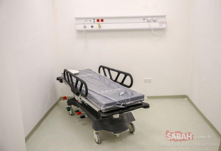 Son teknolojiyle donatıldı! Sancaktepe'deki salgın hastanesi yarın hizmete giriyor