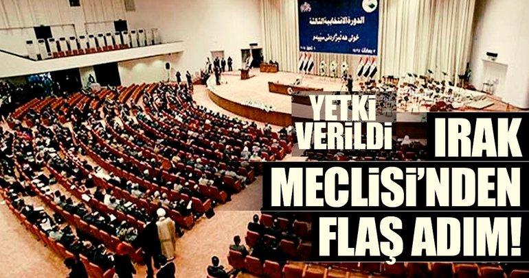 Irak Meclisi'nden flaş adım