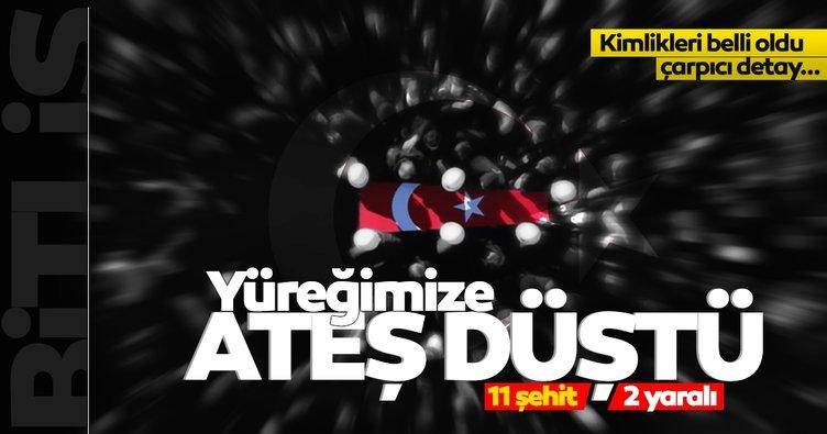 Son dakika haberi: Şehidin var Türkiye'm; 11 kahramanın ateşi yüreğimize düştü