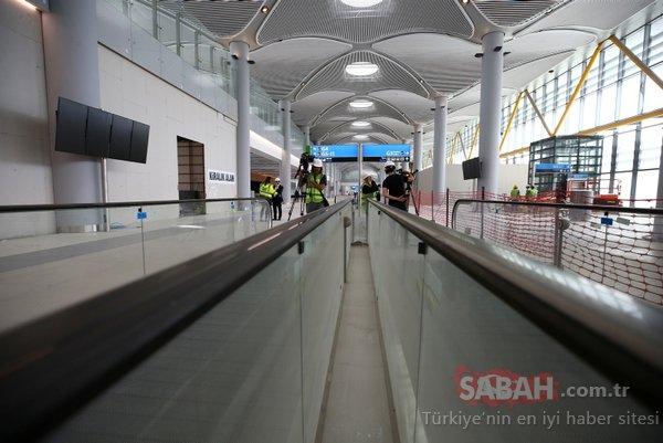 İstanbul 3. havalimanının son hali görüntülendi