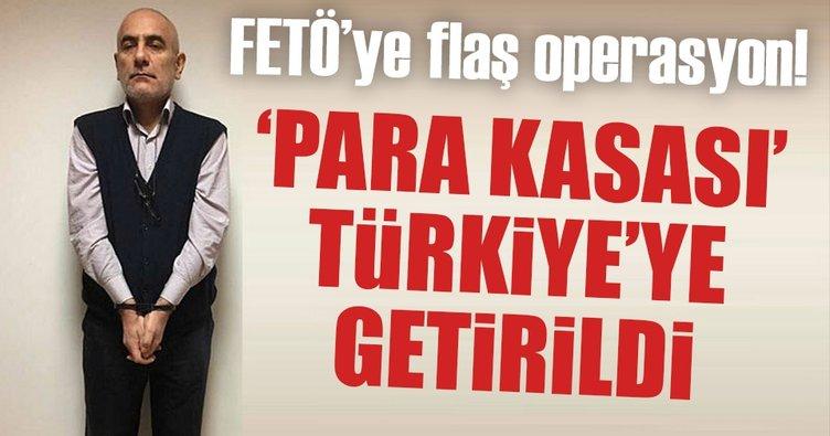 FETÖ'nün para kasası Türkiye'ye getirildi