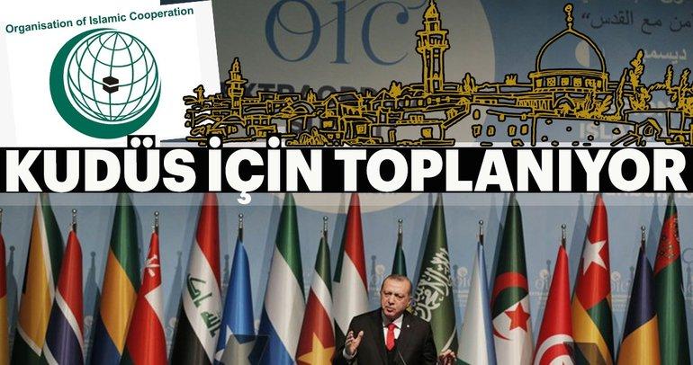 Kudüs için 40'dan fazla İslam ülkesi İstanbul'da toplanıyor