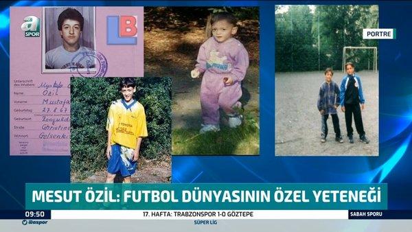 İşte Fenerbahçe'nin bomba transfer atağı Mesut Özil'in hayat hikayesi | Video