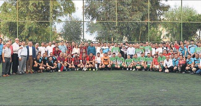Kepez'den birlik ve vefa turnuvası