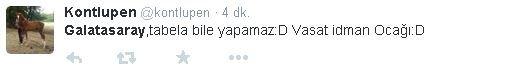 Galatasaray yenildi Twitter yıkıldı!