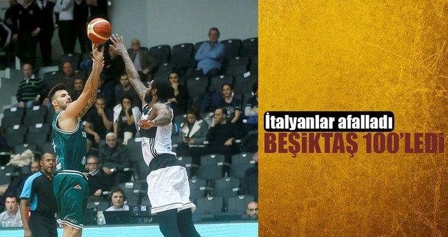 Beşiktaş 100'ledi