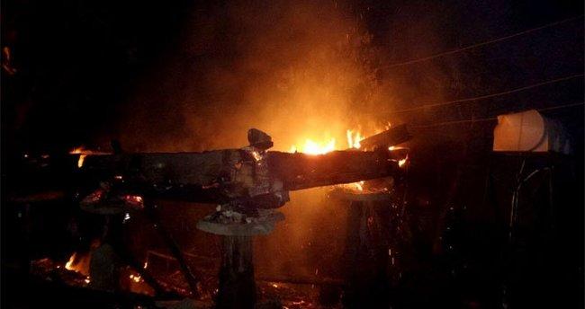 Sinop'ta ev yangını: 1 ölü
