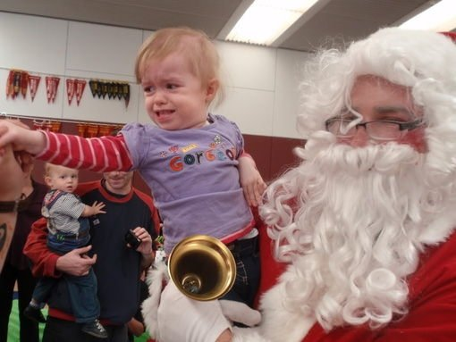 Noel Baba'dan hazzetmeyen çocuklar