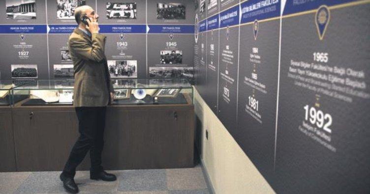 Üniversite müzesi açıldı