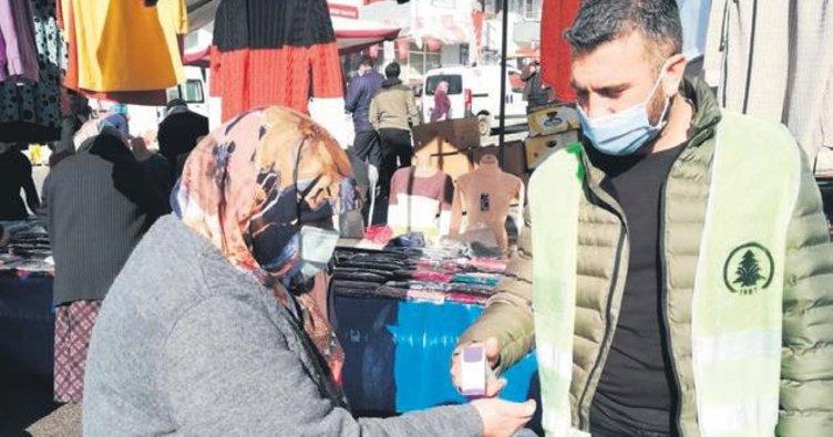 Pursaklar'da pazarlar artık daha güvenli
