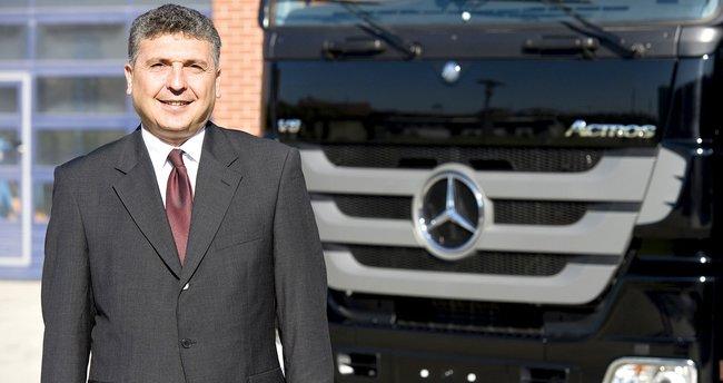 Mercedes-Benz'e Türk başkan