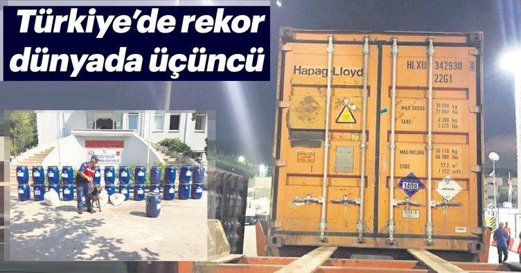 Türkıye'de rekor dünyada üçüncü