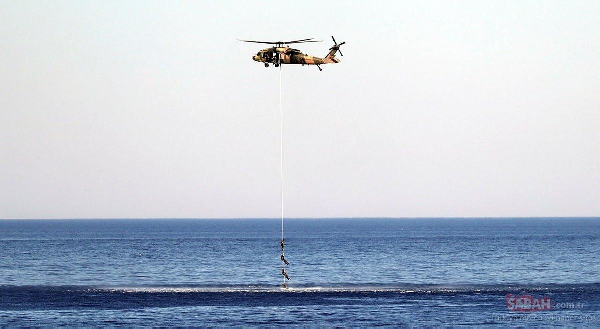 Son dakika: Deniz Kurdu 2021 Tatbikatı'nda dünyaya net mesaj! SİHA MAM-L, hedefleri tam isabetle vurdu - Galeri - Türkiye