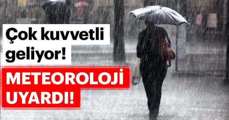 Meteoroloji'den son dakika hava durumu uyarısı geldi! O illerde yaşayan vatandaşlar dikkat…