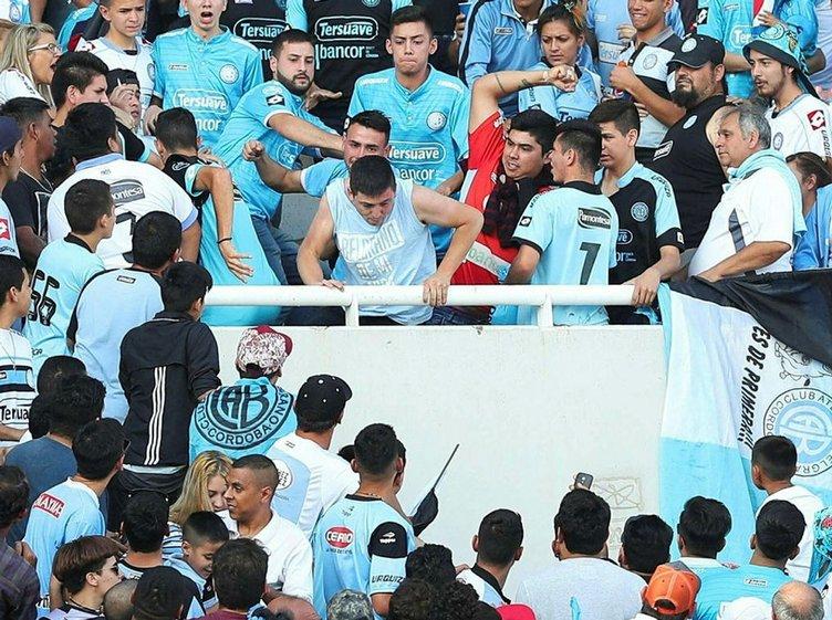 Belgrano - Talleres maçında tribünde cinayet