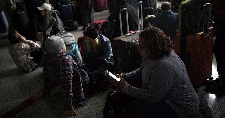 Elektrik kesintisi ABD'yi felce uğrattı