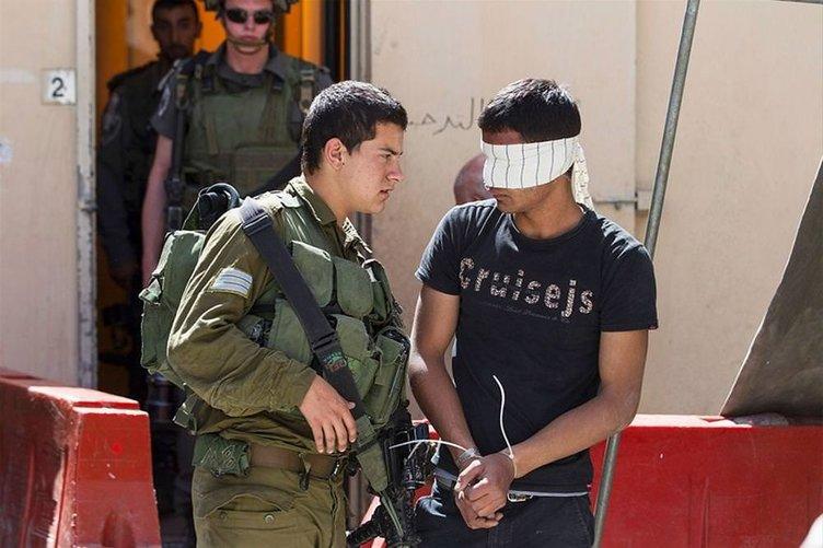 İsrail'den 3 bin Filistinli çocuğa gözaltı