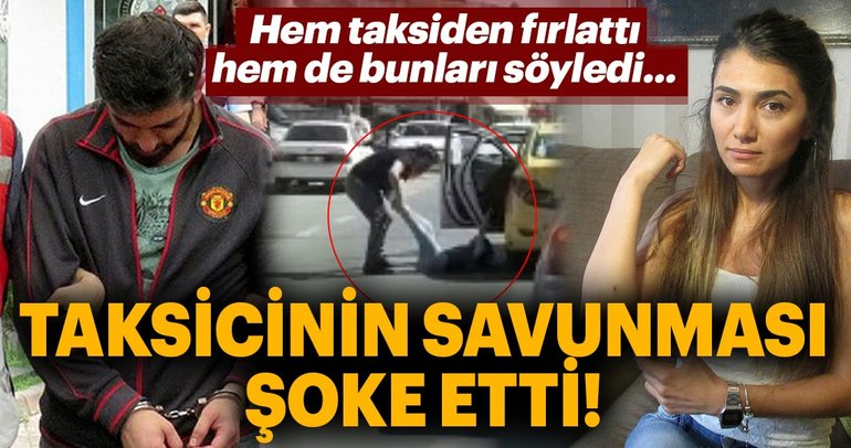 Son Dakika Haber: Ümraniye'de kadın yolcusunu bacaklarından tutup yola atan taksici tutuklandı!