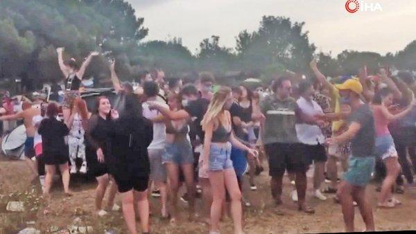 Son dakika haberi... İstanbul Şile'deki festivalde tepki çeken skandal görüntüler   Video