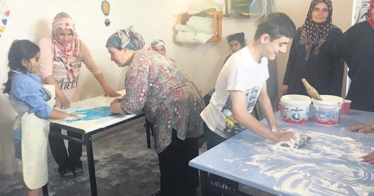 Engelli gençler sanatla buluştu