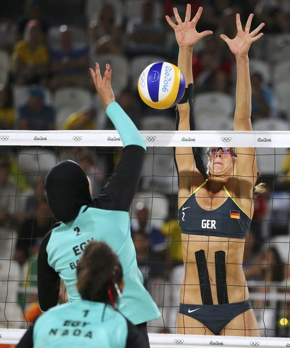 Rio'da olimpiyatlara damga vuran kare!