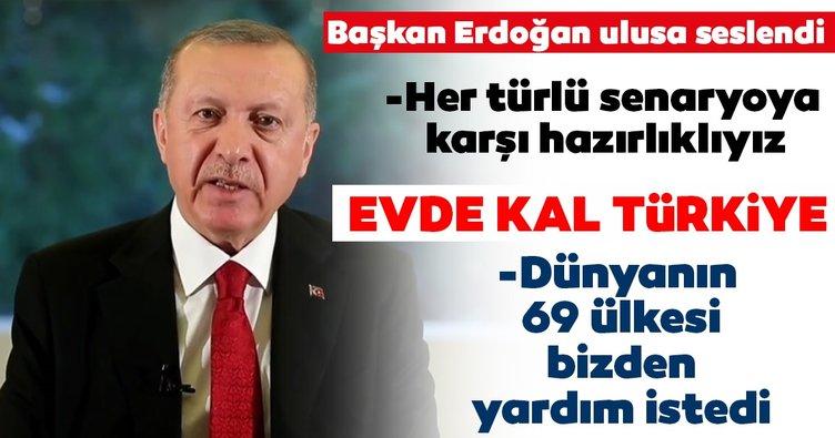 Son Dakika Haberi: Başkan Erdoğan ulusa seslendi! Çok önemli corona virüs mesajı