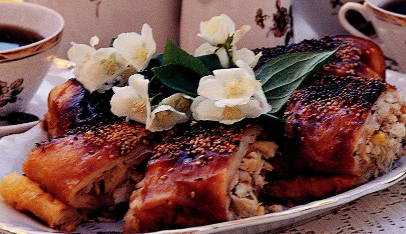 Tavuklu Mısırlı Börek