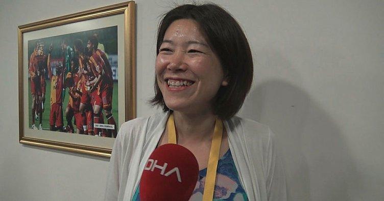 Derbide İstiklal Marşı'nı okuyan Tomoe Tsuchiya: Çocuklarımın okulunda öğrendim