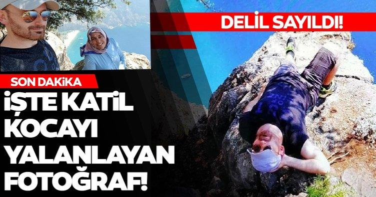 Son dakika: Katil kocayı yalanlayan fotoğraf! Semra Aysal'ın çektiği fotoğraf delil oldu...