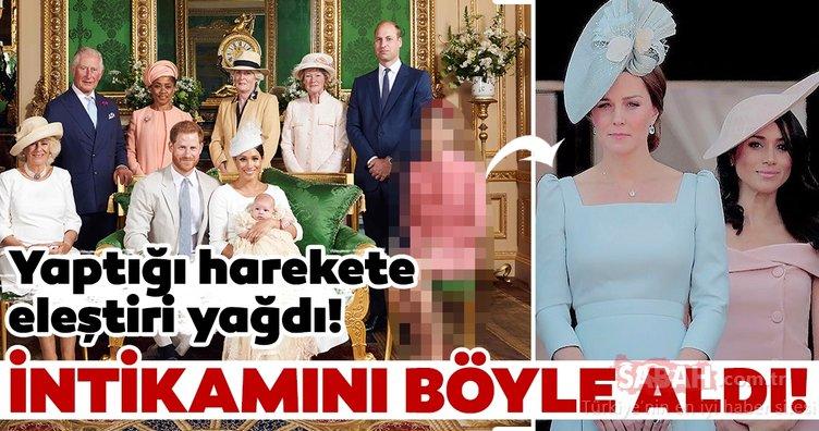 Kate Middleton eltisi Meghan Markle'den resmen rol çaldı!