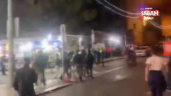 İsrail güçleri, teravih namazından çıkan Filistinlilere saldırdı   Video