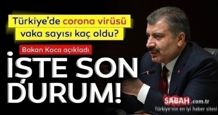 SON DAKİKA: Bakan Koca açıkladı! 4 Mart 2021 Türkiye corona virüs vaka sayısı kaç oldu? İşte günlük korona tablosu ve vaka sayısı!