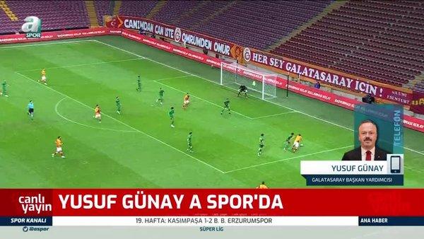 Yusuf Günay: Rakibine tekme atan futbolcu 1 maçla cezalandırılamaz